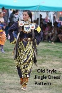 Oldold Style Jingle Dress Pattern