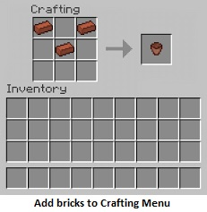 add bricks
