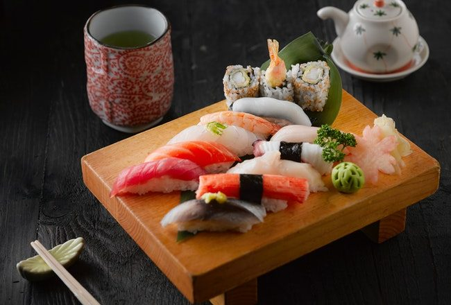 Japanese: Tableware and Foods