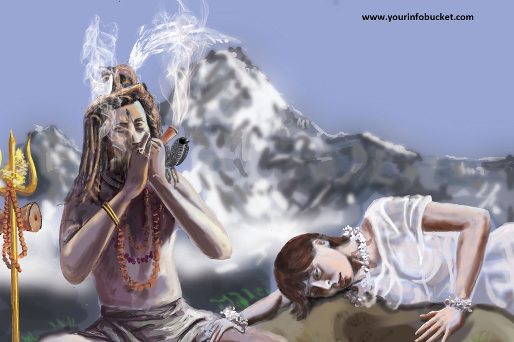 Who is Shiva? If Shiva smokes weed, why can't we?