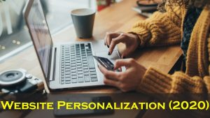 Website Personalization 2020