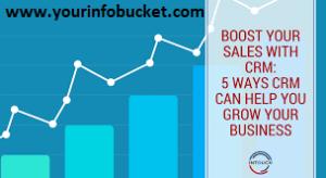 CRM boosting sales