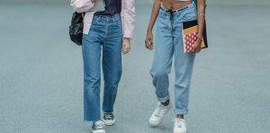 Jeans in women
