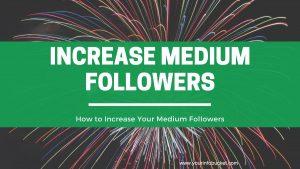 Medium followers