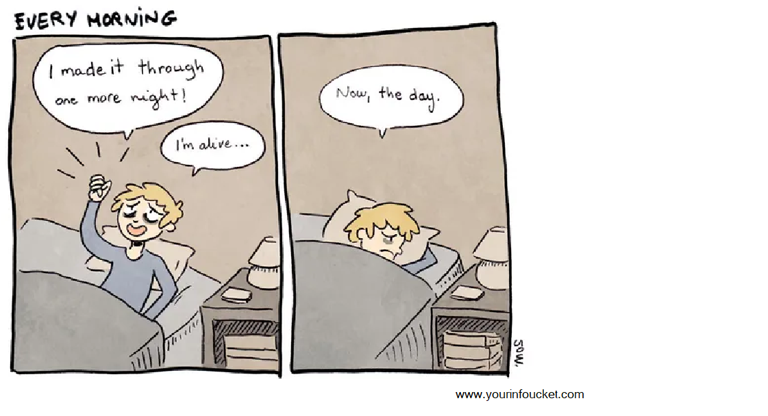 How to Care for a Sad Person Comic?