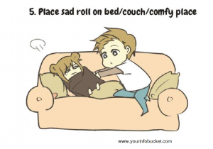 Place sad roll