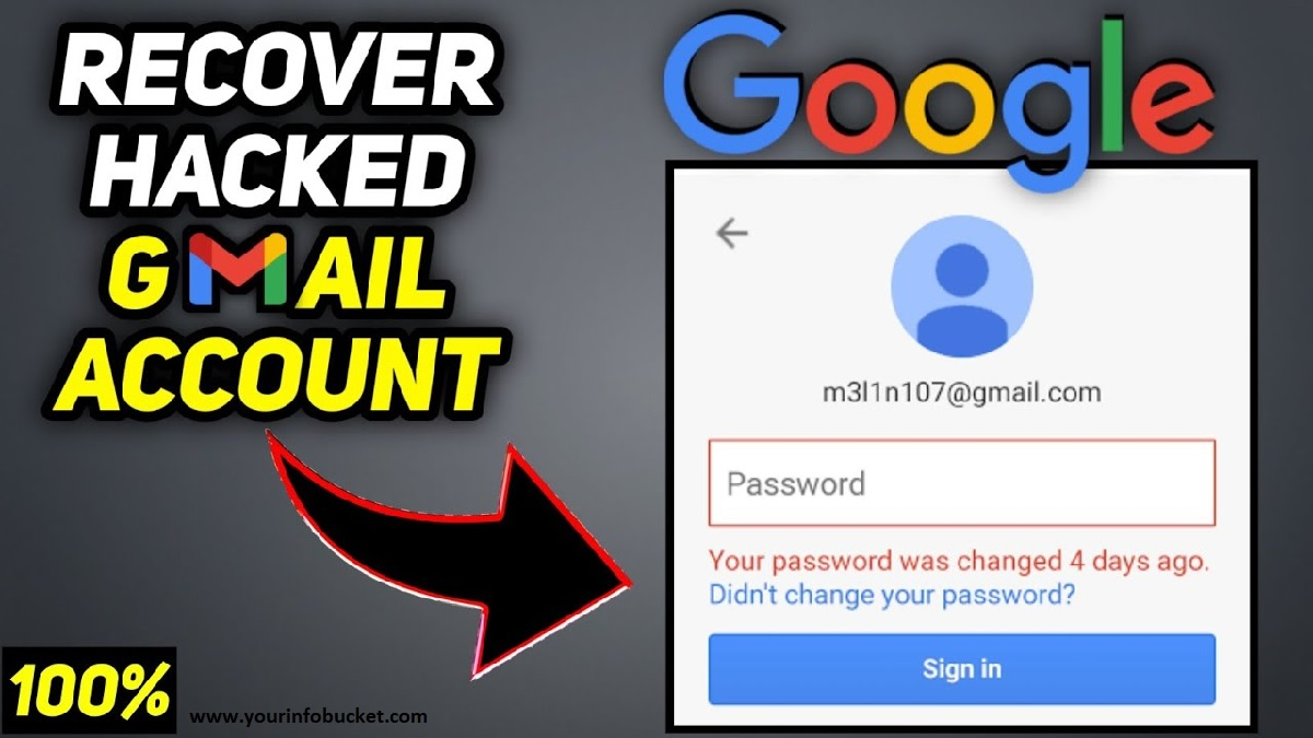How to Recover Hacked Gmail Account?