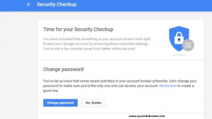 gmail hacked account