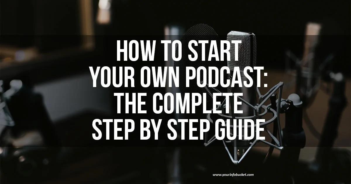 Starting a Podcast Reddit