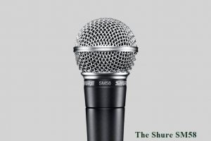 The Shure SM58